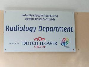 , Dutch Flower Foundation donates new X-ray machine to Sher hospital in Ziway