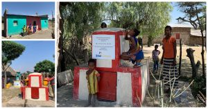 , Afriflora / Sher provides clean drinking water in rural areas