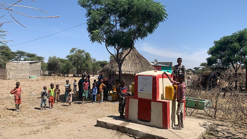 Afriflora zorgt voor schoon drinkwater
